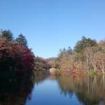 軽井沢紅葉情報「雲場池」