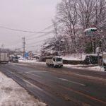 軽井沢も雪です