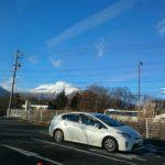 浅間山の噴煙