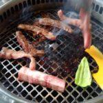 軽井沢 焼肉「炎」のランチ